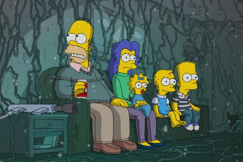 'The Simpsons' parodies 'Stranger Things' for its 666th episode
