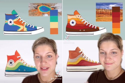 Converse accused of sneaking rejected intern's shoe designs