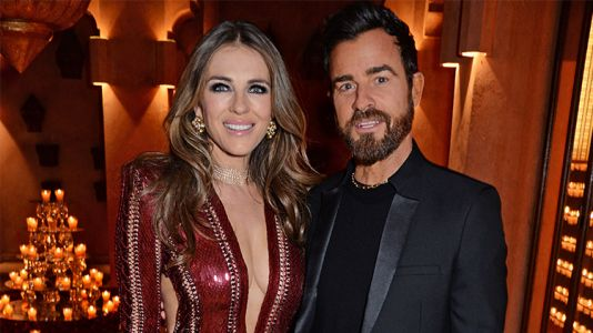 Elizabeth Hurley And Justin Theroux Have Fun Together At Racing Event - See Pics!