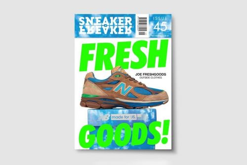 Sneaker Freaker Magazine Reveals Joe Freshgoods' New Balance 990v3 Collaboration
