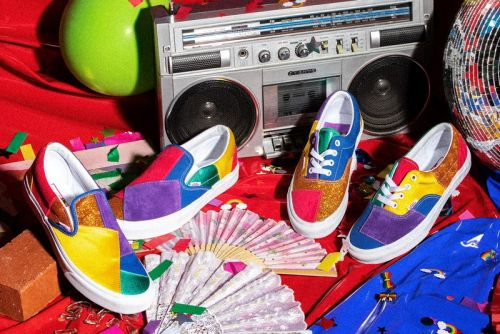 Vans Reveals Colorful Footwear and Apparel Collection for Pride Month 2021