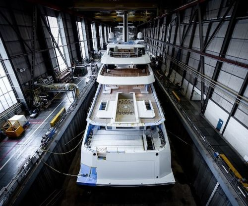 Amels 78m Full Custom Superyacht Touches Water