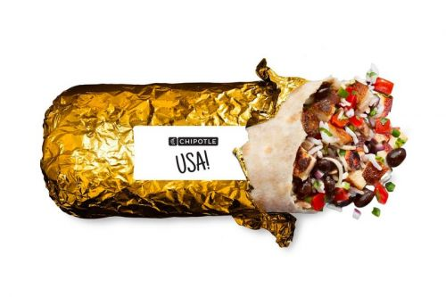 Chipotle Shells Out Limited Edition Gold Wrapped Burritos