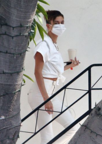 Hailey Bieber Wore White After Labor Day, Because Rules Don't Apply To Her