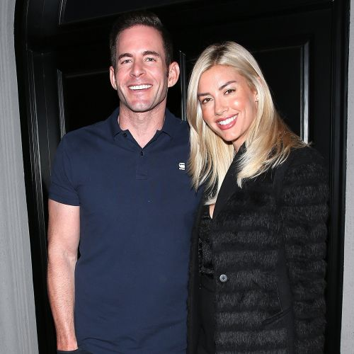 Teamwork! Tarek El Moussa and GF Heather Rae Young Are All Smiles as He Helps Her at an Open House