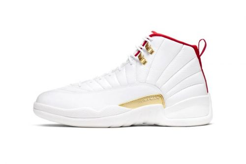 """Take an Official Look At Nike's FIBA-Themed Air Jordan 12 """"White/University Red"""""""
