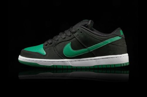 "Nike Adds a ""Pine Green/Black"" SB Dunk Low Pro to J-Pack Series"