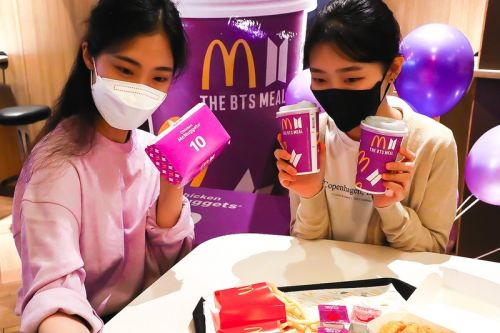 Fans Are Now Enshrining McDonald's BTS Meal Packaging