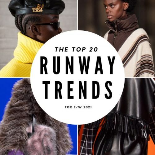 The Top 20 Runway Trends for F/W 2021
