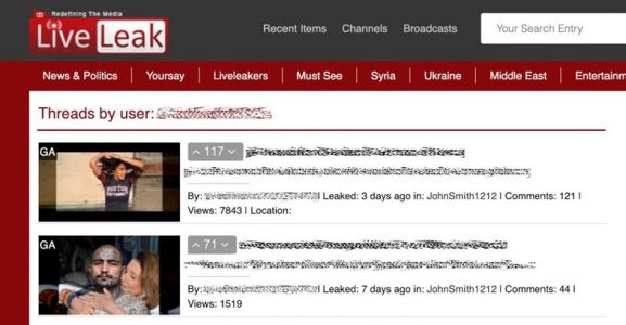 LiveLeak, the notorious host of online beheading videos, is no more