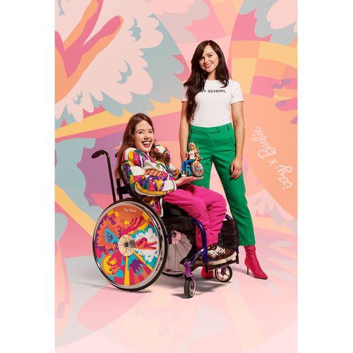 Barbie and Izzy Wheels Release Four Designs of Wheelchair Covers, As Imagined by Emerging Creatives