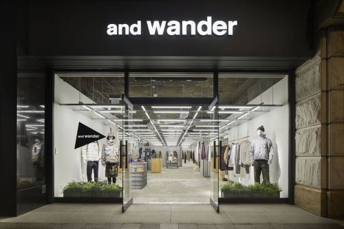 And wander Outdoors Ethos Yields Sleek Marunouchi Flagship Store