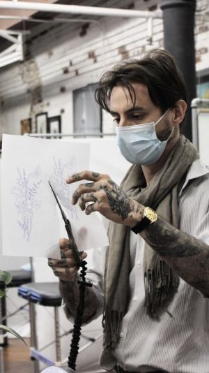 Nicholas Solomon Is Redefining the Art of Tattoos with His Single Needle Style